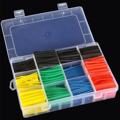 Heat Shrink Wrapped Shrinking 530Pcs Insulation Sleeving Thermal Casing Car Electrical Cable Shrink Kits Heat Shrink Tube