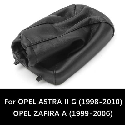 For OPEL ASTRA II G (1998-2010) ZAFIRA A (1999-2006) Car Shift Gear Knob Gaitor Leather Boot Cover Car Styling Accessories