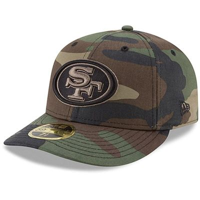 San Francisco 49ers New Era Woodland Camo Low Profile 59FIFTY Fitted Hat