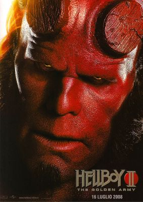 Hellboy 2: The Golden Army (2008) 11x17 Movie Poster (Italian)