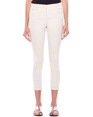 Halston Tapered Ankle Zip Pant