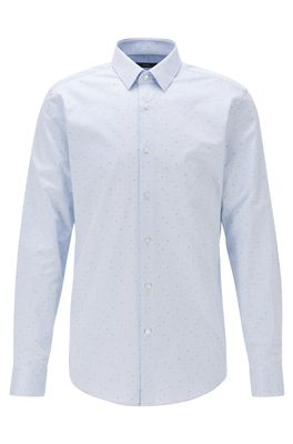 HUGO BOSS - Slim Fit Shirt In Fil Coupe Cotton