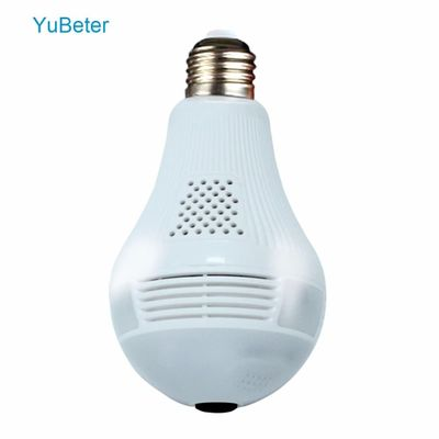 YuBeter 960p 1080P 360 Bulb Camera Security wifi Camera Lamp IP CCTV Video Surveillance Fisheye HD Night Vision Two Way Audio