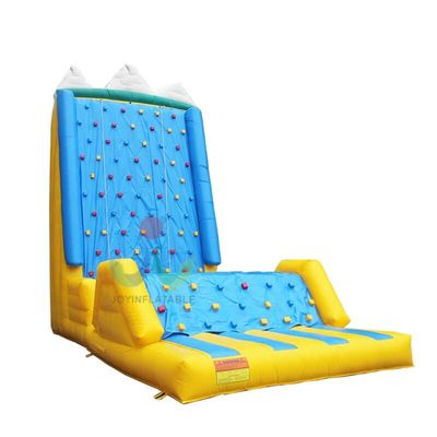 Inflatable kids rock climbing wall in sports competitions in the outdoor activity on sale
