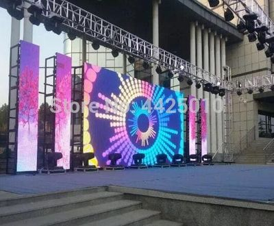 P3 outdoor LED Display outdoor Stage LED display Distribution Synchronous LINSN/NOVASTAR p3 576*576mm led display