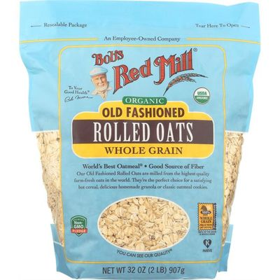 Bob's Red Mill Old Fashioned Rolled Oats, Organic, 32 oz