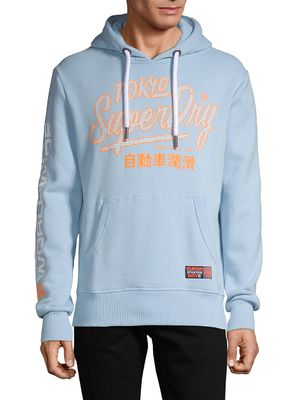 Superdry Graphic Cotton-Blend Hoodie