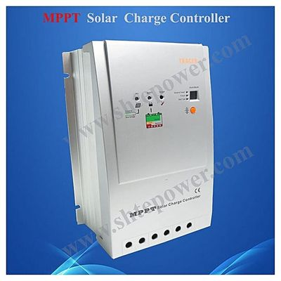 40A 12V/24V Auto Work MPPT Solar Charge Controller With Max PV Voltage 100V DC Tracer 4210