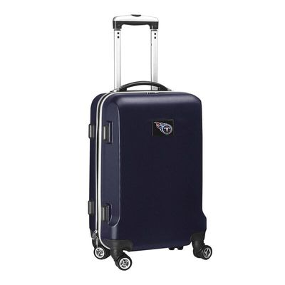 Tennessee Titans 21In 8-Wheel Hardcase Spinner Carry-On - Navy