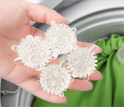 Reusable Magic Laundry Balls Cleaning Washing Machine Clothes Softener Super Strong Decontamination Cleaning Ball