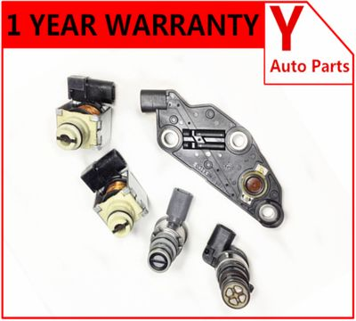 5pcs/set OEM 4T65E 2003-up Solenoid Kit Shift EPC TCC Manifold Pressur case for Buick/Chevy