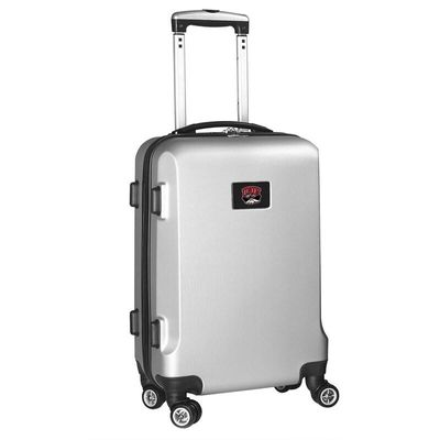 UNLV Rebels 21In 8-Wheel Hardcase Spinner Carry-On - Silver