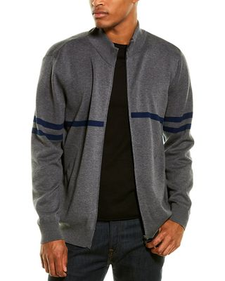 Corneliani Mock Zip Sweater