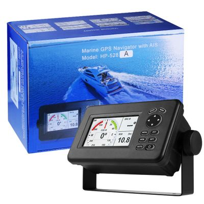 Matsutec HP-528A 4.3-inch Color LCD Chart Plotter Built-in Class B AIS Transponder Combo High Sensitivity Marine GPS Navigator