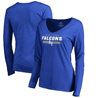 Air Force Falcons Women's Team Strong Long Sleeve T-Shirt - Royal
