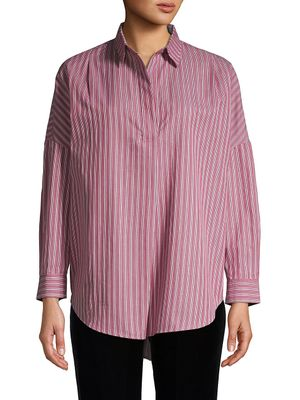 French Connection Bega Striped Cotton Shirt