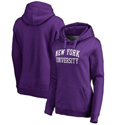 NYU Violets Women's Everyday Pullover Hoodie - Purple