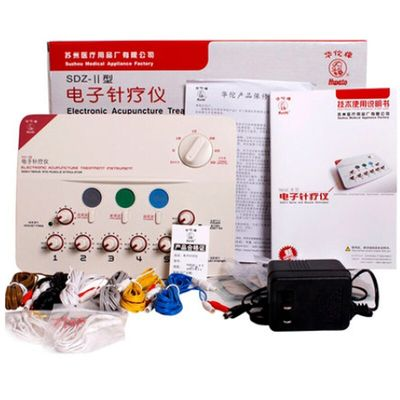 6 Output Channel 110-220V TENS Massager Health Multi-functional body relax acupuncture stimulation foot  acupuntura