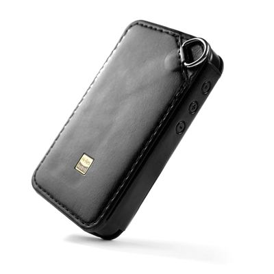 C-M6 Leather Case for FiiO M6, Hi-res player M6 Leather cover. Black