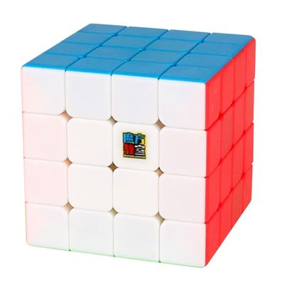 MoYu Cubing Classroom Meilong 4x4x4 Magic Speed Cube Stickerless 4x4 Professional Puzzle Cubes Educational Toys for Children
