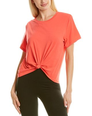 All Access Rhythm Knot Front Tee