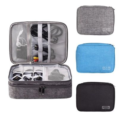 Multifunction Digital Storage Bag USB Gadget Organizer Charger Earphone Organizer Portable Travel Cable Bag Accessories Supplies