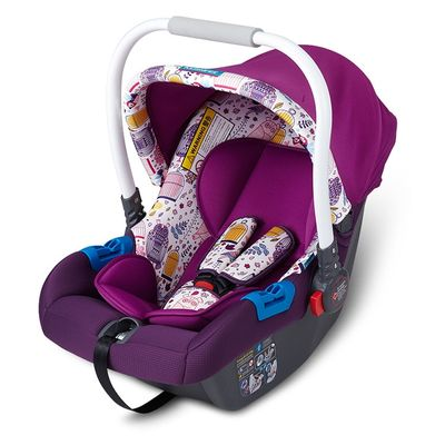 Child Star KS-2150 Baby Basket Safety Seat Portable Neonatal Baby Car Cradle Dairy Cow  Baby Car Seat  Baby Car Seat Cover