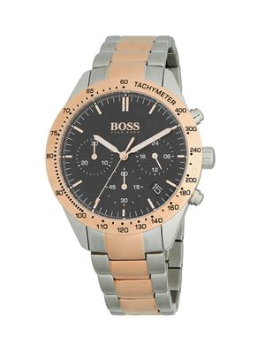 Hugo Boss Two-Tone Stainless Steel Bracelet Chronograph Watch