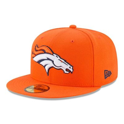 Denver Broncos New Era Omaha 59FIFTY Fitted Hat - Orange