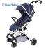 Baby Stroller Lightweight Travel Tourism Folding Trolley Can Sit and Lie High Landscape Suitable for Four Seasons