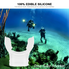 New Dive Tube Snorkel Silicone Clear Underwater Diving Tube Snorkel Mouthpiece Regulator Swimming Gear Diving Mouthpiece Snorkel