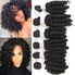 Image Beauty Bouncing Curly 6 Bundles 200G All In One Natural Funmi Hair Weave Bundles Loose weave Deep Wave Hair Extension