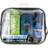 Convenience Kits International Men's Deluxe 10 Piece Travel Kit, TSA Compliant, in Reusable Clear Zippered Bag Featuring: Barbasol Shave Cream