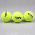 High Quality Tennis Ball for Training 100% Synthetic Fiber Good Rubber Competition Standard Tennis Ball 1 Pcs Low Price on Sale